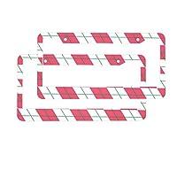 ダイアモンド ナンバープレートホルダー 車 ライセンスプレートフレーム ステンレス鋼 カードホルダー ユニバーサル フレーム ライセンスプレートカバー 丸穴 フレーム