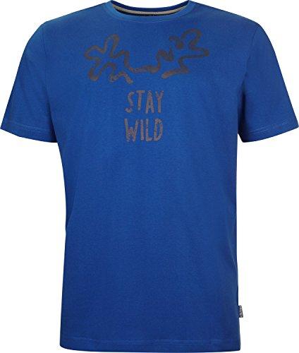 Elkline Staywild T-Shirt Herren royal Größe S 2018 Kurzarmshirt