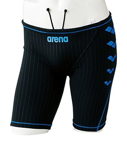 arena(アリーナ) トレーニング 競泳用 水着 メンズ スパッツ SAR-8104 BKBU(ブラック×ブルー×ブルー) Lサイズ