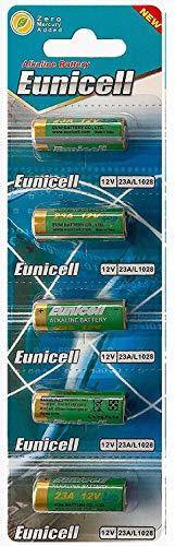 Energy01 Alcaline 23A MN21 5 Batteries Piles 12 V sans Mercure, Pack Multi-économie (A23 / V23GA / LRV08 / 8LR932) conçue pour Les télécommandes, Cloches et systèmes de sécurité (5 Piles)