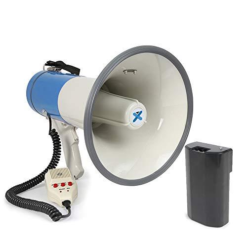 VONYX Rechargeable Battery Megaphone Speaker Loudspeaker Hailer Speech 60w...