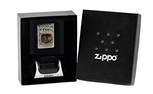 Zippo Dragon Eye im Geschenkset mit Magnetständer