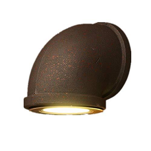 GaLon Led-wandlamp, 3 W, industrieel metaal, ijzer, shisha, wandlamp, loft, trap, bar, hal, woonkamer, verlichting voor slaapkamer
