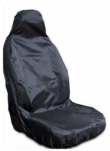 1 x premium stoelbekleding zwart voor Peugeot 107