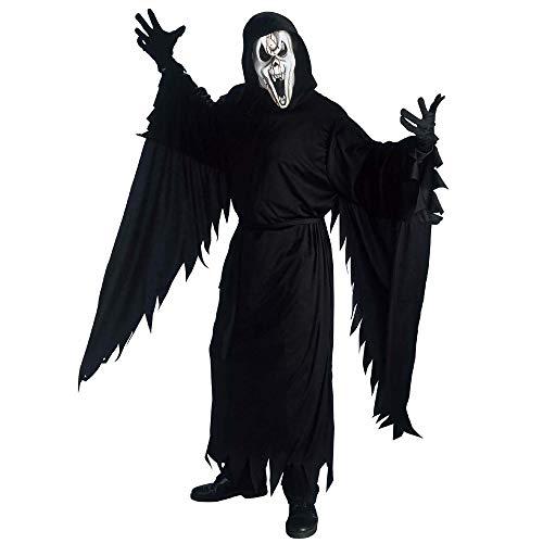 Widmann 39842, Halloweenkostüm Screaming Ghost in Größe M = 50/52 für Erwachsene