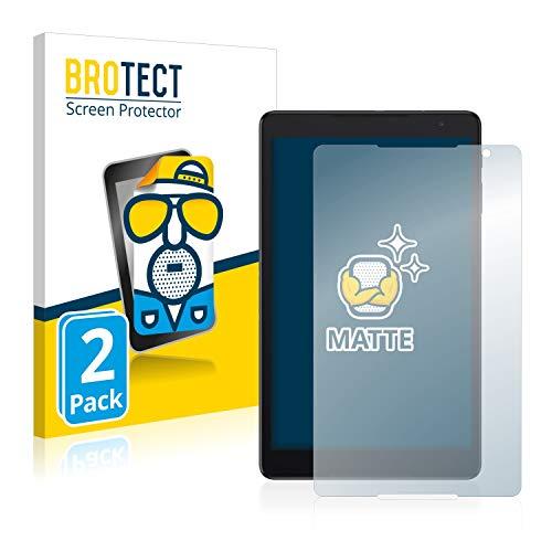 BROTECT 2X Entspiegelungs-Schutzfolie kompatibel mit Alcatel 3T10 Displayschutz-Folie Matt, Anti-Reflex, Anti-Fingerprint