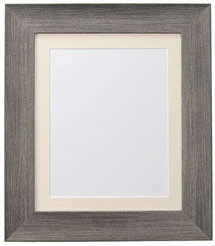 FRAMES BY POST Poster Hygge Bear Creek Foto Rahmen, Plastik, Wolf Grey, 50 x 40 cm Image Size A3
