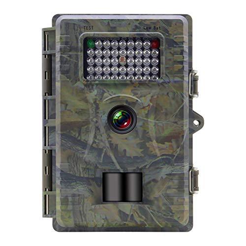 Wildkamera Fotofalle 12MP 1080P HD Jagdkamera mit Bewegungsmelder Nachtsicht, Infrarote 940nm IR LED IP66 Wasserdicht Wildkamera Jagdkamera, 0.5s Auslösezeit für Jagd, Überwachung Eigentum und Tiere