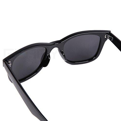 (フェリー)FERRY偏光レンズウェリントンサングラスポーチ&クロスセットユニセックスブラック