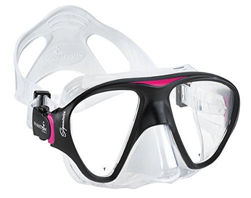 Phantom Aquatics Cancun Snorkeling Maschera, Pink