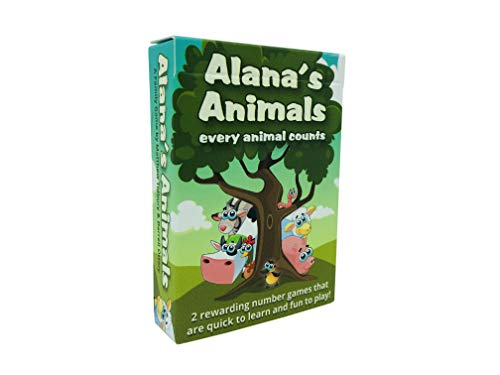 Alana's Animals | A Counting and Addition Card Game for Early Math Learners