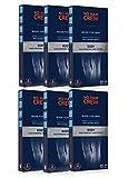 6 x NO HAIR CREW Bandas de Cera Depilatorias Masculinas Premium – Hechas Para Hombres, 20 Tiras Y 4 Toallitas Calmantes (paquete de 6 x 20)