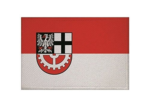 U24 Aufnäher Hürth Fahne Flagge Aufbügler Patch 9 x 6 cm