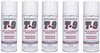 Boeshield T-9 Rust & Corrosion Protection/Inhibitor and Waterproof Lubrication, 12 oz. (5)