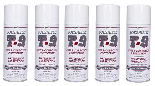 Boeshield T-9 Protección contra el óxido y la corrosión/inhibidor y lubricación impermeable, 12 onzas (5)