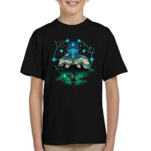 Legend of Zelda Breath of The Wild Wild Adventurer Kid's T-Shirt