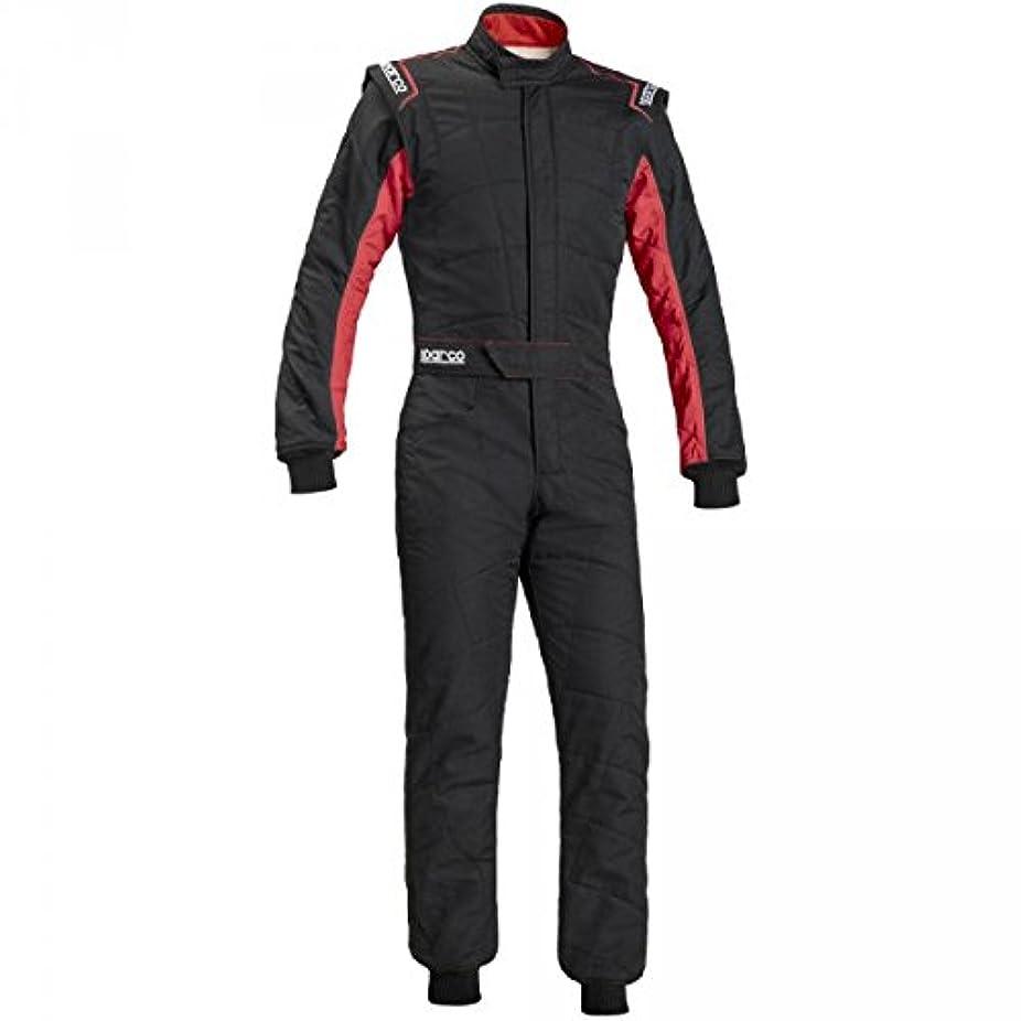マリナー友情再発するSPARCO (スパルコ) レーシングスーツ SPRINT RS-2.1 BLACK/RED サイズ52 00109152NRRS