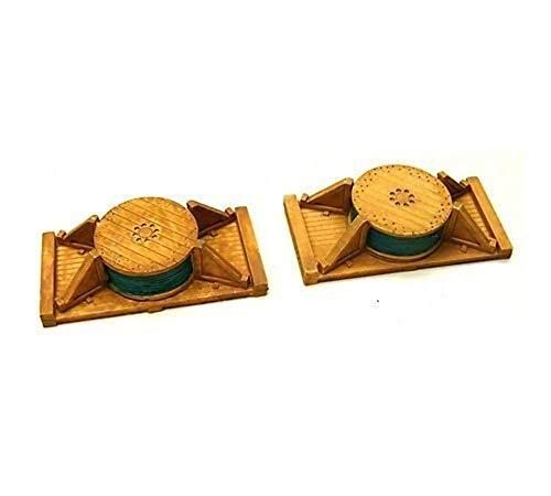 Chooch 7245 Ladegut H0 leichte Kabeltrommeln liegend 2 Stück