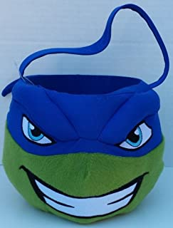 Teenage Mutant Ninja Turtles Small Plush Halloween Candy Basket