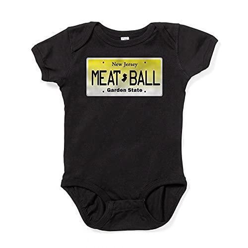 ABADI NU JOISEY, New Jersey, License Plate Infant Bodysu Baby Bodysuit White
