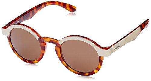 MR.BOHO, Cream/leo tortoise dalston with classical lenses - Gafas De Sol unisex multicolor (carey), talla única