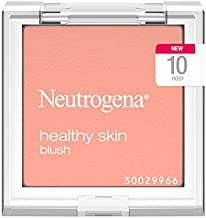 Neutrogena Healthy Skin Powder Blush Makeup Palette, Illuminating Pigmented Blush with Vitamin C and Botanical Conditioners for Blendable, Buildable Application, 10 Rosy.19 oz