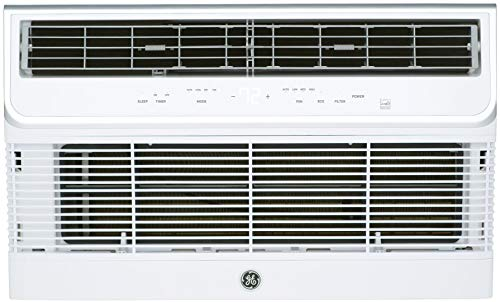 """GE AJCQ14DCH 26"""" Through The Wall Air Conditioner with 14000 BTU Cooling Capacity, 3 Fan Speeds, in Soft Gray"""