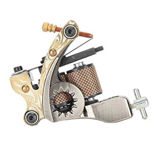 Máquina de tatuaje rotativa, máquina de tatuaje rotativa de aleación profesional para...