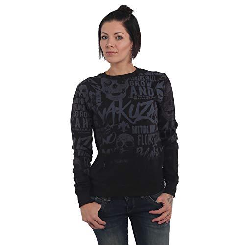 Yakuza Damen Rotting Body Gradient Sweater Pullover
