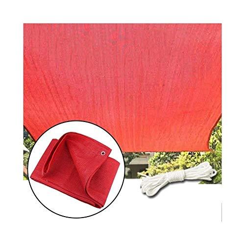 YUDIAN -Shade net Sunblock Shade Cloth Sunscreen Shade Fabric 95% Shade Block The Sun for Outdoor, Barn, Kennel,Backyard, Pergola, Plant (Color : Red, Size : 1X3M)