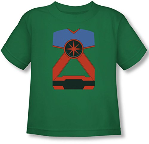Justice League, The - - Mh Toddler T-Shirt martien, 4T, Kelly Green
