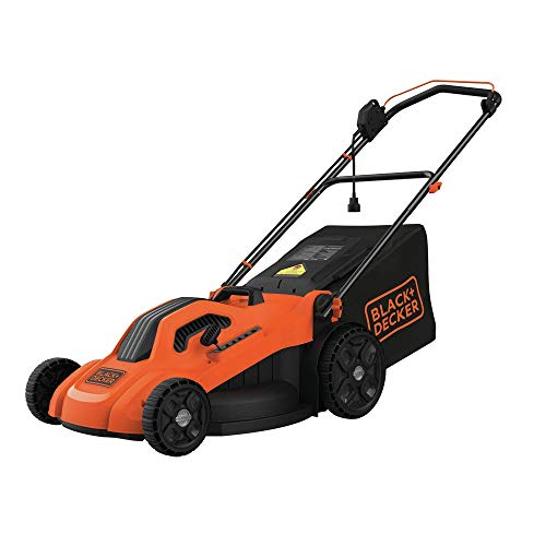 BLACK+DECKER Lawn Mower, Corded, 13 Amp, 20-Inch (BEMW213),Orange