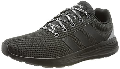 adidas Lite Racer CLN 2.0, Road Running Shoe Hombre, Carbon/Carbon/Cloud White, 44 EU