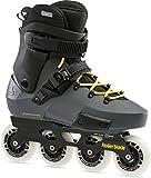 Rollerblade Twister Edge 245 - Patines en línea para Hombre, Color Gris y Amarillo
