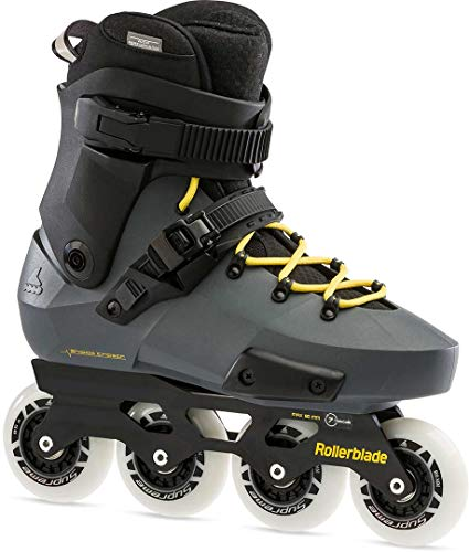 Rollerblade Twister Edge 295 - Pattini in linea da uomo, colore: antracite/giallo