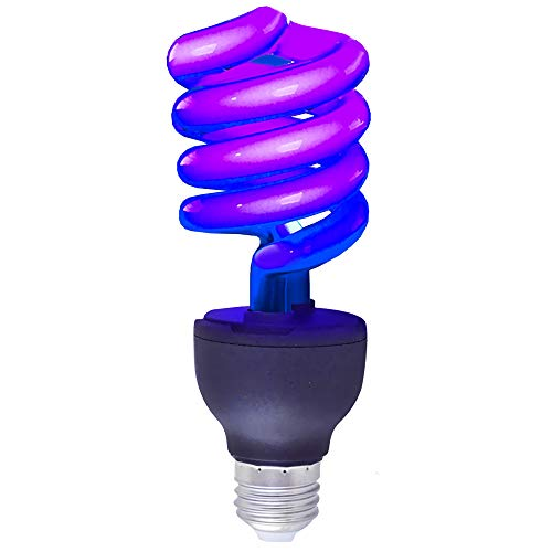 60 Watt Flourescent Blacklight Twist Bulb