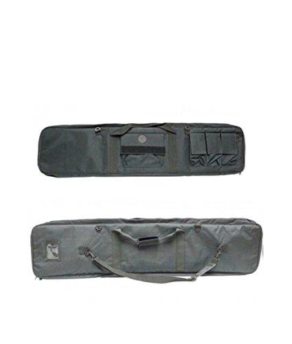 Ra sport fodero per carabina tattico imbottito con ottica per carabina aria compressa e benelli browning beretta (nero)