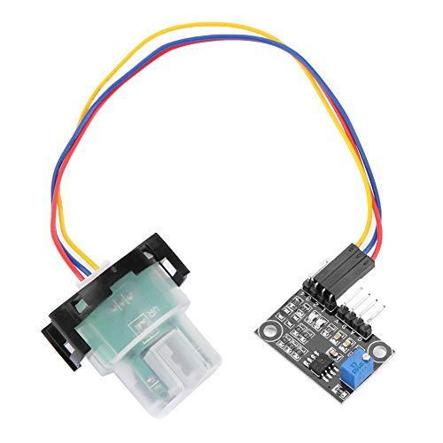 Weikeya Módulo de sensor de turbidez, sensor de corriente de turbilidad suspendida sensor módulo adecuado con Ccd