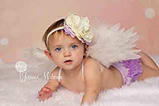 Angel Wings Costume Cosplay Prop Free Halo Sale Baby angel Newborn to Toddler Choose size and color