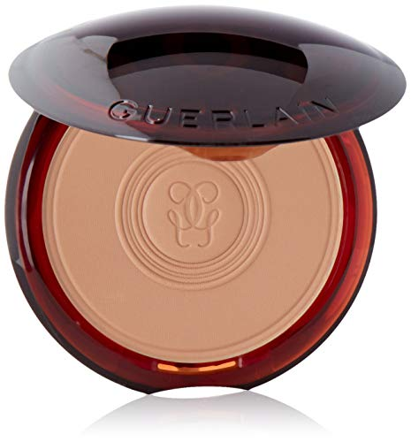 Guerlain Unisex POLVOS COMPACTOS Light Terracotta KOMPAKTES Pulver Matte LICHT 1UN, Negro, Standard