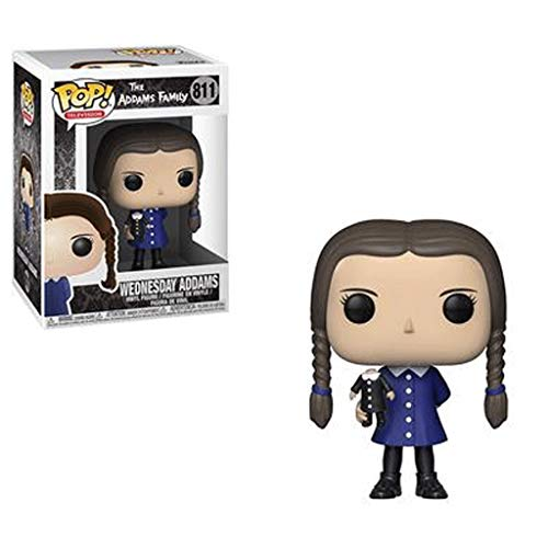Funko Pop Television : Addams Family - Wednesday Addams 3.75inch Vinyl Gift for TV Fans SuperCollection