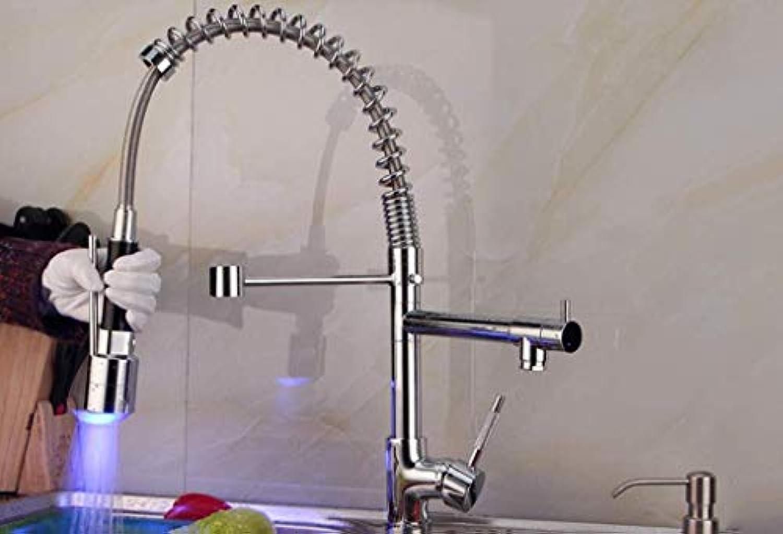 SEBAS Home Küchenarmaturen, Wasserkraft, Lampe, Mischbatterie, drehende Küchenarmatur, heie und kalte Wasserhhne