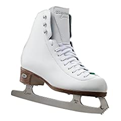 GIVES YOU THE RIGHT AMOUNT OF SUPPORT - This figure skate set offers light support to keep you safe while allowing for freedom of movement. The boots feature a double synthetic reinforcement to keep your ankle supported. Support rating is 30 (Scale 1...