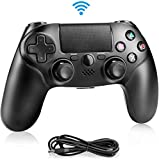 BicycleStore PS4 Controller Wireless, Bluetooth Gamepad Controller for Playstation 4 with Dual Vibration Game Remote Control Joystick for PS4/PS4 Slim/PS4 Pro and PS3 / PC