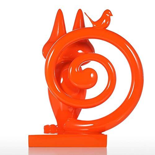 Belleashy La Escultura Moderna De La Resina Escultura De Resina para El Escondite Decoración del Hogar Arte Moderno para La Decoración De La Oficina De La Sala De Estar del Hogar
