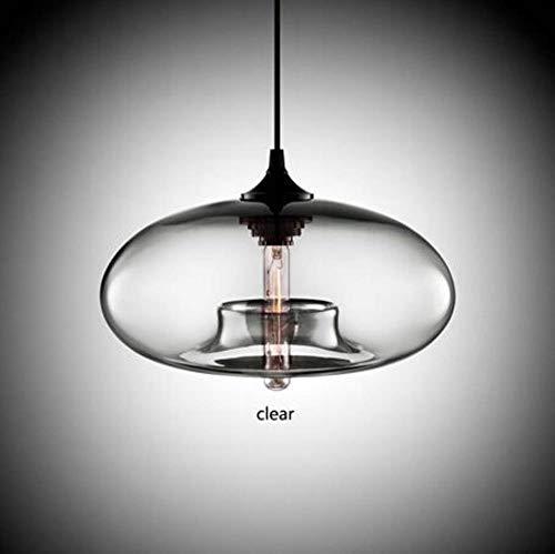 5151BuyWorld Lámpara Art Deco Lámpara Colgante De Cristal E27/E26 Colgante Colorido met Luces LED Cuerda Para Restaurante Sala De Cocina Calidad Superior {}