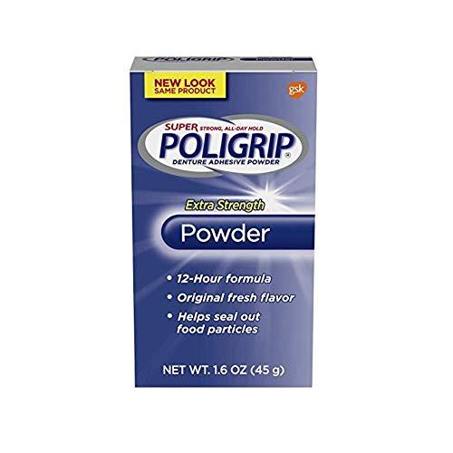 Super Poligrip Extra Strength Denture and Partials Adhesive...