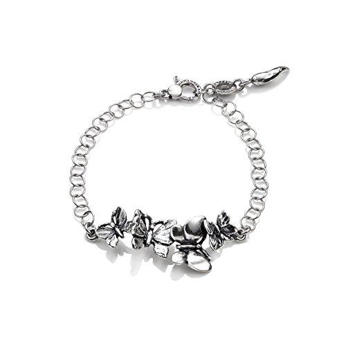 Raspini / Swing / bracciale swing farfalle cm 19,5 / argento