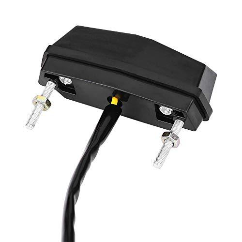 Integriertes Licht Lauflicht Mini LED Rücklicht Rücklicht, 12 V Signalleuchte, für Sportster für Motorräder