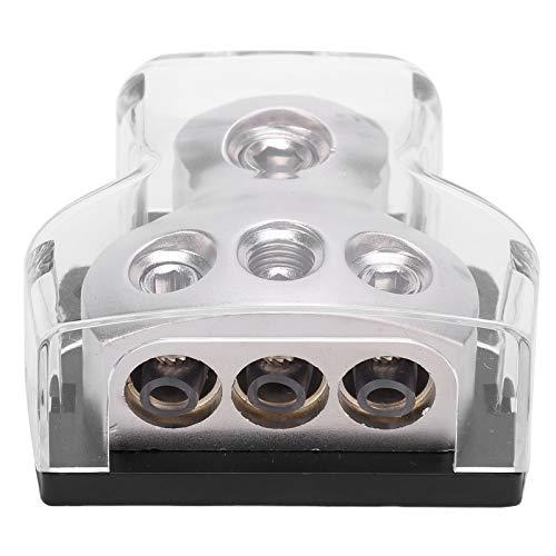 Fuse Holder Distribution Block Car Audio Power Distribution Box DB‑001 Corrosion Resistance Oxidation Resistance for HiFi Speaker Vehicle DIY Car